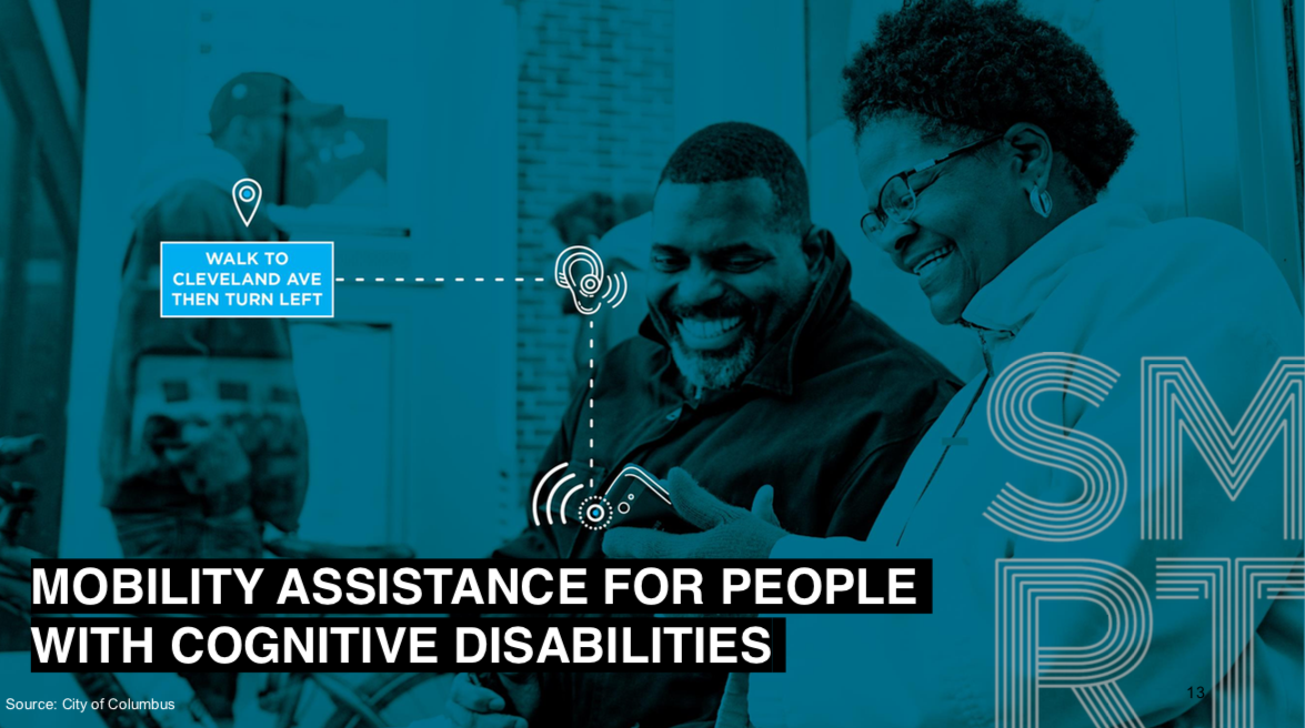 Mobility Assistance for People with Cognitive Disabilities